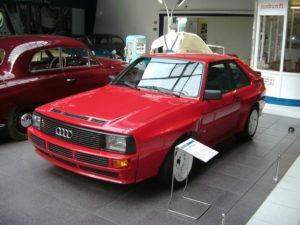 Audi Urquattro im EFA-Museum für Deutsche Automobilgeschichte in Amerang im Chiemgau
