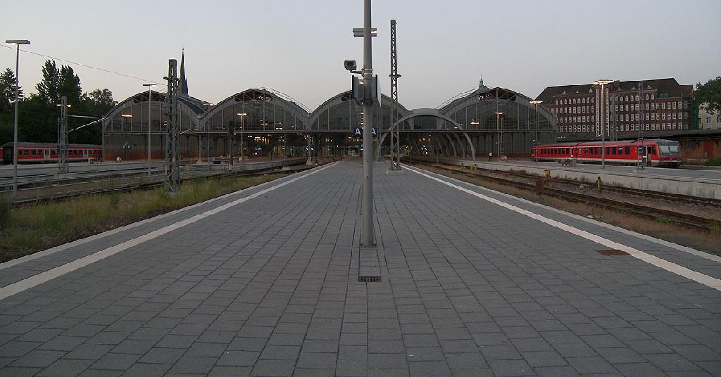 Kopfende Bahnsteig 5