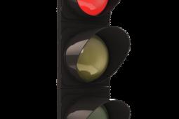 Vehrkehrsunfall bei Linksabiegen bei roter Ampel