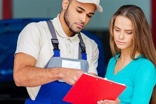 Kostenersatz für Reparaturbestätigung