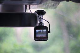 Dashcam bei Verkehrsunfall