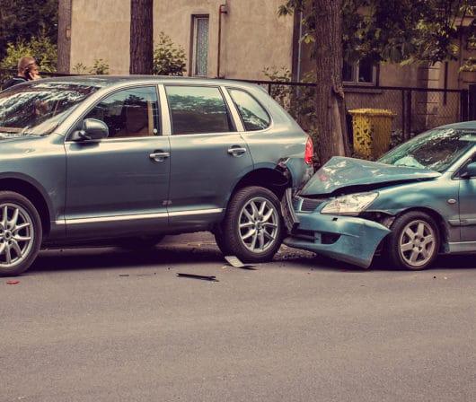 Aufschiebe Unfall - Haftungsverteilung