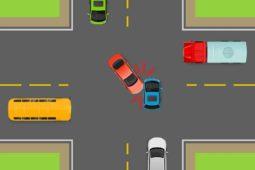Verkehrsunfall: Zwischen Linksabbieger und entgegenkommendem Fahrzeug