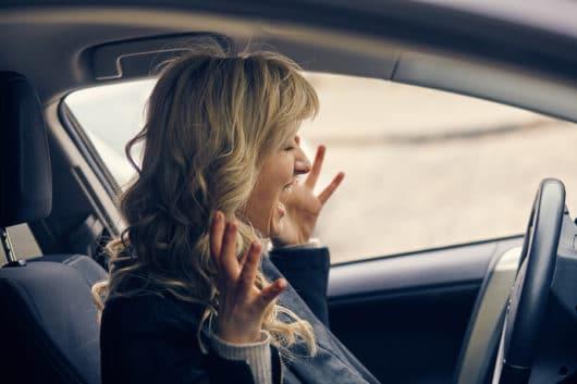 Beinaheunfall auf Autounfall - Schmerzensgeld