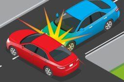 Manipulierter Verkehrsunfall - Indizien