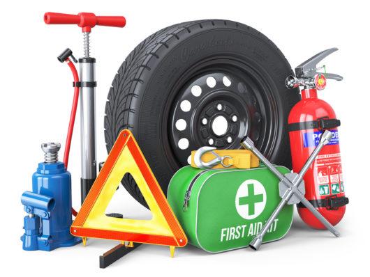 Verkehrsunfall: Erstattungsfähigkeit von Verbandskasten, Warndreieck und Warnweste