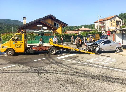 Verkehrsunfall: Erstattung von Verbringungskosten