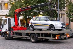 Abschleppkosten nach Verkehrsunfall