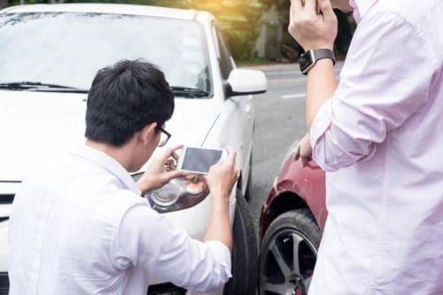Verkehrsunfall- Schätzung der merkantilen Wertminderwerung