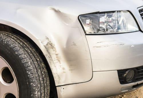 Verkehrsunfall - Wertminderung bei Schaden an Stoßstange