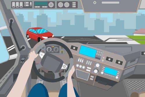 Verkehrsunfall mit Gegenverkehr