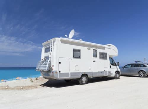 Verkehrsunfall - Verbringung eines reparierten Wohnmobils an den Urlaubsort des Geschädigten