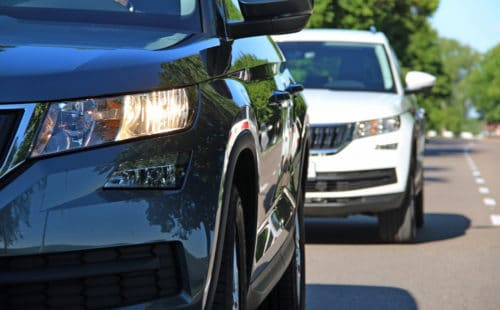 Verkehrsunfall - Alleinhaftung bei Spurwechsel