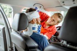 Verkehrsunfall - Verursachung einer Halswirbelsäulenverletzung