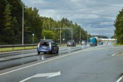 Verkehrsunfall - plötzlicher und unvermittelter Spurwechsel des Vordermannes
