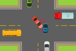 Verkehrsunfall zwischen überholendem Fahrzeug mit Linksabbieger