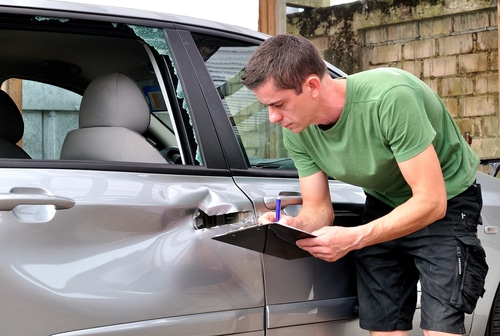 Verkehrsunfall – Vorschaden am geschädigten Fahrzeug
