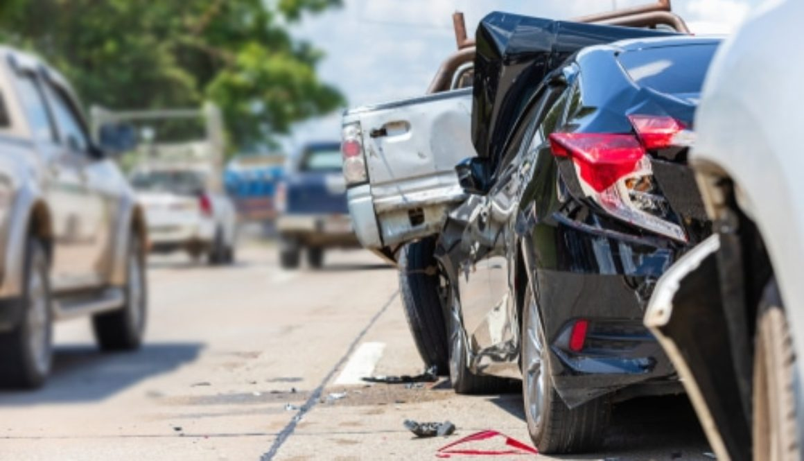 Kettenauffahrunfall - Anscheinsbeweis gegen den Auffahrenden