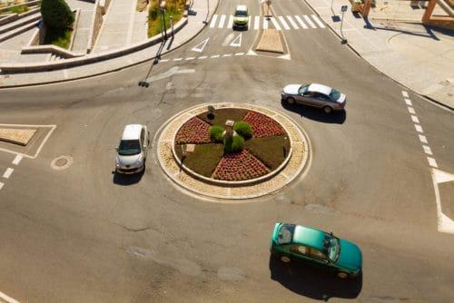 Anscheinsbeweis zugunsten des Vorfahrtsberechtigten in Kreisverkehr